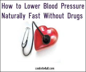 How to Lower Blood Pressure Naturally Fast Without Drugs