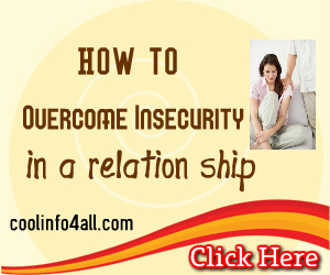 How To Deal With Insecurity In A Relationship