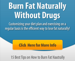 Tips on How to Burn Fat Naturally Without Drugs