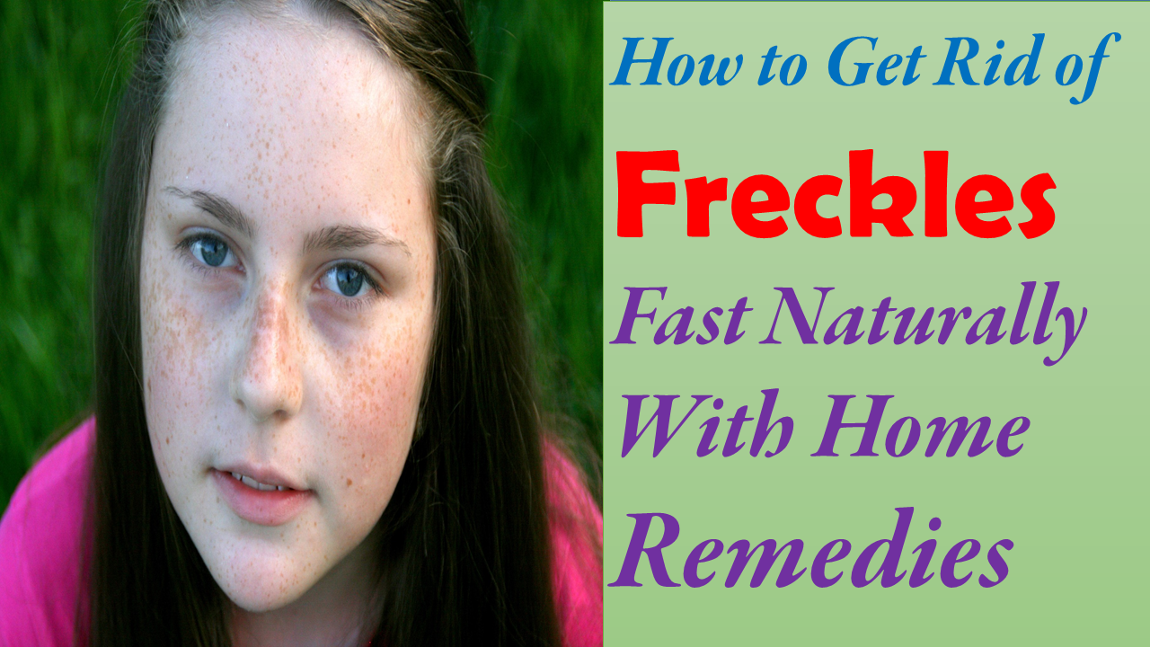 How to get rid of freckles 51