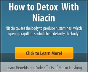 niacin detox - niacin flush detox