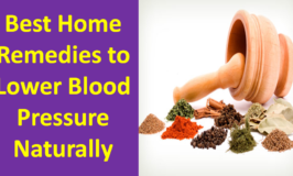 Natural Home Remedies and Cures for High Blood Pressure Treatment